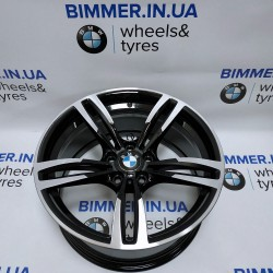 "BIMMER | 19"" диск BMW (БМВ) M2(F87), M3(F80), M4(F82 F83), 9J ET29, стиль (styling) 437M, 2284550 black"