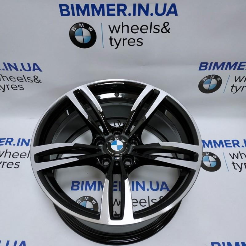 "BIMMER | 19"" диск БМВ 3 (F30, F34) 5 (F07, F10) 7 (F01) M3 (F80), W10J ET40, стиль (styling) 437M, OEM 2284756"