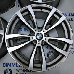 "BIMMER | 20"" диски БМВ (BMW) X5 (E53, E70, F15), X6 (E71, F16), M, стиль (styling) 469 silver, OEM 7846790, 7846791"