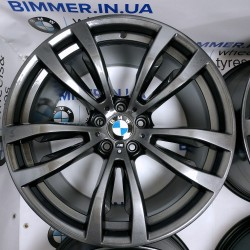 "BIMMER | 20"" диски БМВ (BMW) X5 (E53, E70, F15) X6 (E71, F16), M, стиль (styling) 469 gray, OEM 7846790, 7846791"
