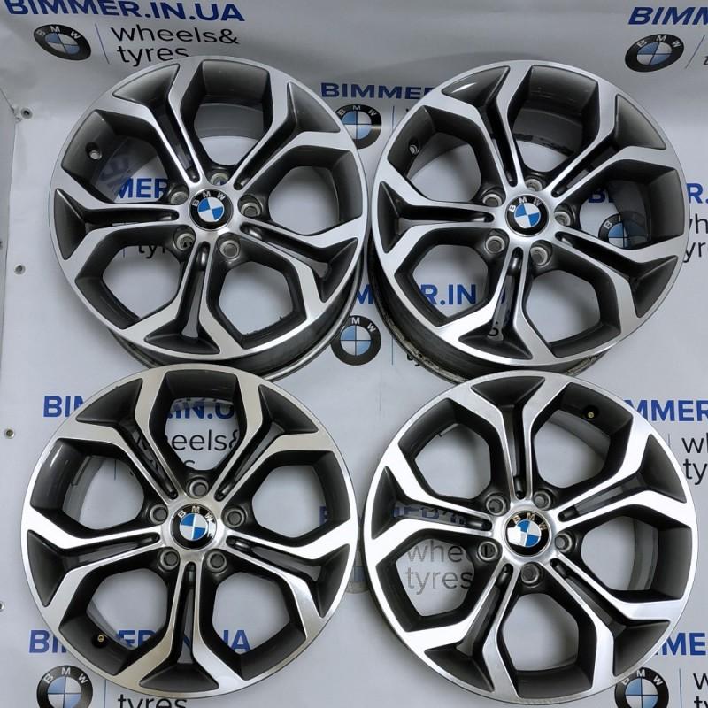 """BIMMER   18"""" диски БМВ (BMW) 5 (E60), X3 (E83, F25), X5 (E70, F15), X6 (E71), 8J ET43, стиль (styling) 607, OEM 6862889"""