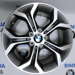 "BIMMER | 18"" диск БМВ (BMW) 5 (E60), X3 (E83, F25), X5 (E70, F15), X6 (E71), 8J ET43, стиль (styling) 607, OEM 6862889"