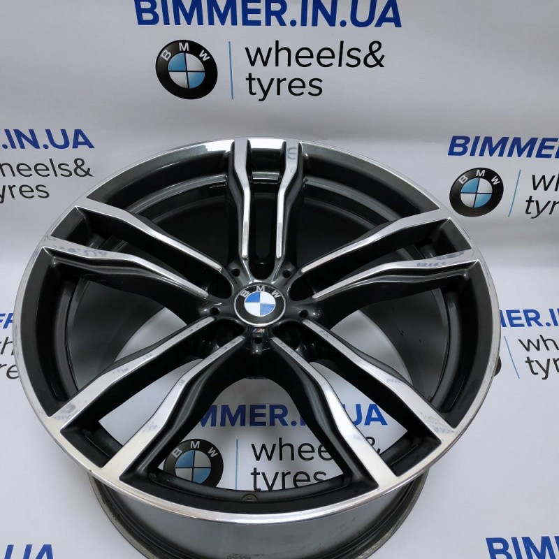 "BIMMER | 21"" диск БМВ (BMW) X5 (E70, F15), X6 (E71/Е72, F16) W11.5 ET38, стиль (styling) 612, OEM 2284653"