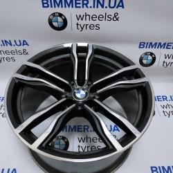 "BIMMER | 21"" диск БМВ (BMW) X5 (E70, F15), X6 (E71/Е72, F16) W10 ET40, стиль (styling) 612, OEM 2284652"