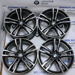 "BIMMER | 21"" диски БМВ (BMW) для серии X5 (E70, F15), X6 (E71, F16), стиль (styling) 612, OEM 2284652, 2284653"