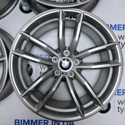 "BIMMER   18"" диски БМВ (BMW) 5 (G30), 7 (G11, G12), X1 (F48), стиль (styling) 662, OEM 7855081 7855082"