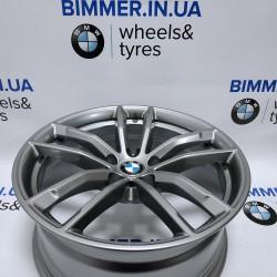 "BIMMER   18"" диск БМВ (BMW) 5 (G30, G31), 7 (G11, G12), X1 (F48), 8J ET30, стиль (styling) 662, OEM 7855081"