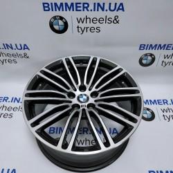 "BIMMER | 19"" 9J ET44 диск БМВ (BMW) 5 (G30, G31) 7 (G11, G12), стиль (styling) 664, OEM 7856926 7855084"