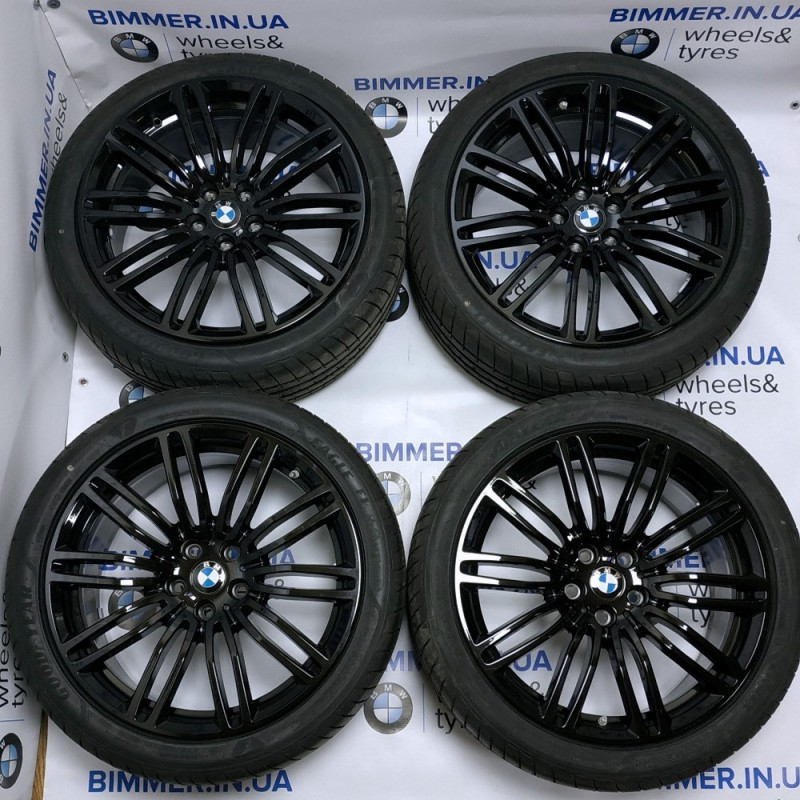 "BIMMER | Комплект колес: 19"" диски БМВ (BMW) 5 (G30, G31) 7 (G11, G12), стиль (styling) 664 black, OEM 7856925, 7856926"