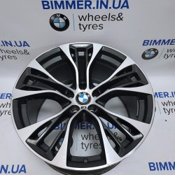 "BIMMER | 21"" диск БМВ (BMW) X5 (E70, F15) X6 (E71, F16), 11.5j ET38, стиль (styling) 599, OEM 6859424"