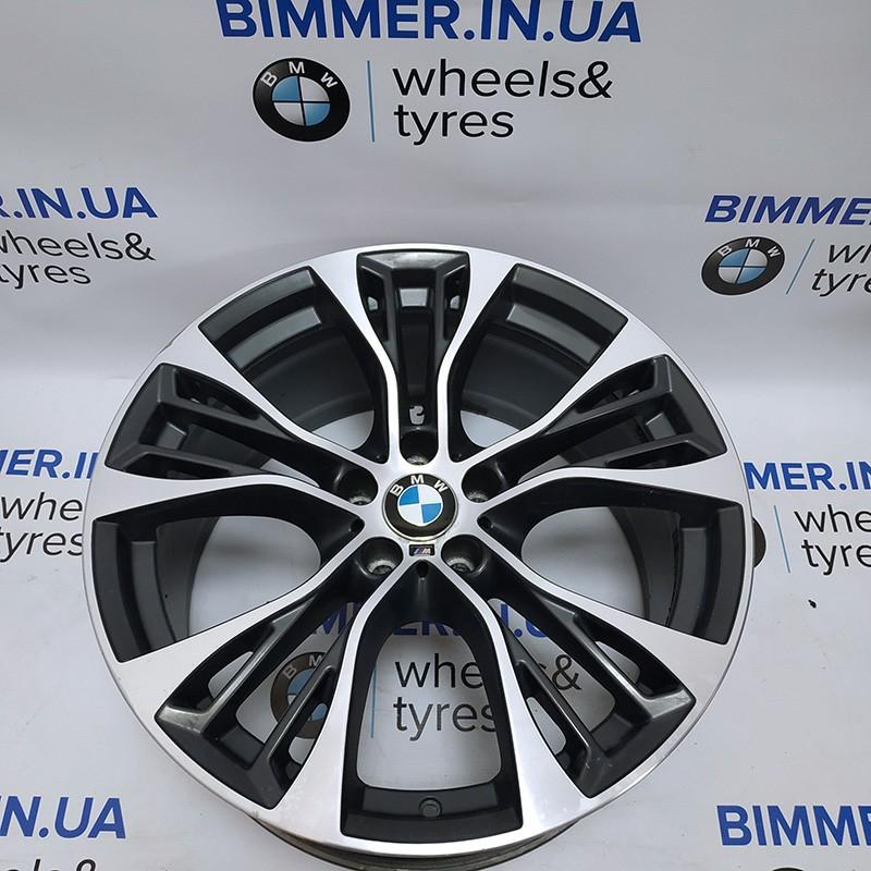 "BIMMER | 21"" диск БМВ (BMW) X5 (E70, F15) X6 (E71, F16), 10j ET40, стиль (styling) 599, OEM 6859423"