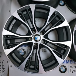 "BIMMER | 21"" диски БМВ (BMW) X5 (E70, F15) X6 (E71, F16), стиль (styling) 599, OEM 6859423 6859424"
