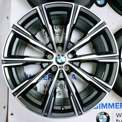 "BIMMER   20"" диски БМВ (BMW) X5 (G05) X6 (G06) X7 (G07), стиль (styling) 740M, OEM 8071996 8071997"