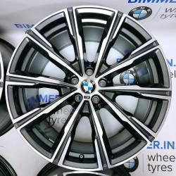 "BIMMER | 20"" диски БМВ (BMW) X5 (G05) X6 (G06) X7 (G07), стиль (styling) 740M, OEM 8071996 8071997"