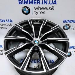 "BIMMER | 20"" диск 10.5J ЕТ40 БМВ (BMW) X5 (G05) X6 (G06) X7 (G07), стиль (styling) 740M, OEM 8071997"
