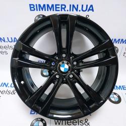 "BIMMER | 18"" диск БМВ (BMW) 3 (F30,F31,F34), 4(F32,F33,F36), 8J ET34, стиль (styling) 397 чёрный, OEM 6882588"