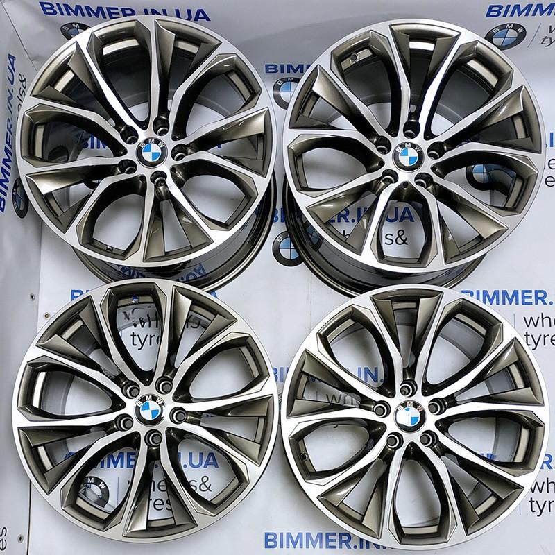 """BIMMER   20"""" диски БМВ (BMW) X5 (E53, E70, F15) X6 (E71, F16), 11J ET37, стиль (styling) 597, OEM 6858878 6858879"""