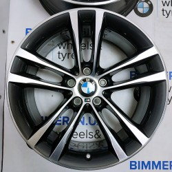 "BIMMER | 19"" диски БМВ (BMW) 3 (F30, F34), 5 (F07, F10), 7 (F01), 8J ЕТ30, стиль (styling) 598, EOM 7847544"