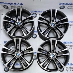 "BIMMER | 19"" диски БМВ (BMW) 3 (F30, F34), 5 (F07, F10), 7 (F01), 8J ЕТ30, стиль (styling) 598, EOM 7847543"