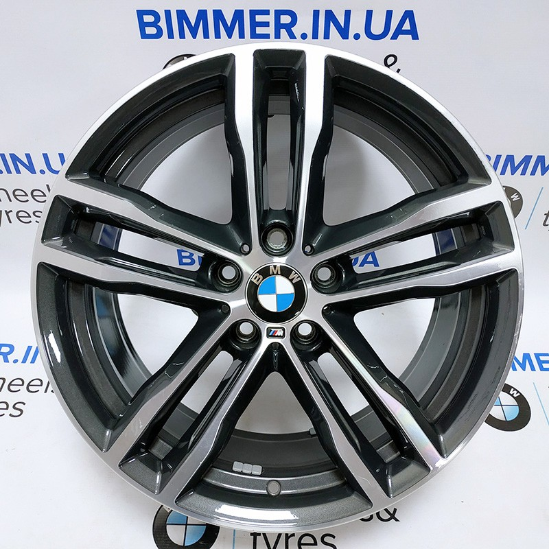 "BIMMER   19"" 8.5J ЕТ47 диск БМВ (BMW) 3 (F30, F31) 4(F32, F33, F36), стиль (styling) 704M, OEM 7856711"