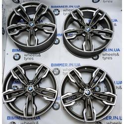 "BIMMER | 21"" диски БМВ (BMW) X3 (G01) X4 (G02), стиль (styling) 718M, OEM 8053455 8053456"