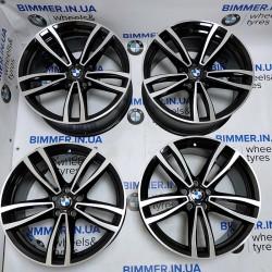 "BIMMER | 19"" диски БМВ (BMW) 6 (G32) 7 (G11, G12), стиль (styling) 647M черный, EOM 7850579 7850580"