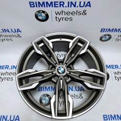 "BIMMER | 21"" диск БМВ (BMW) X3 (G01) X4 (G02), 9.5J ЕТ43, стиль (styling) 718M, OEM 8053456"