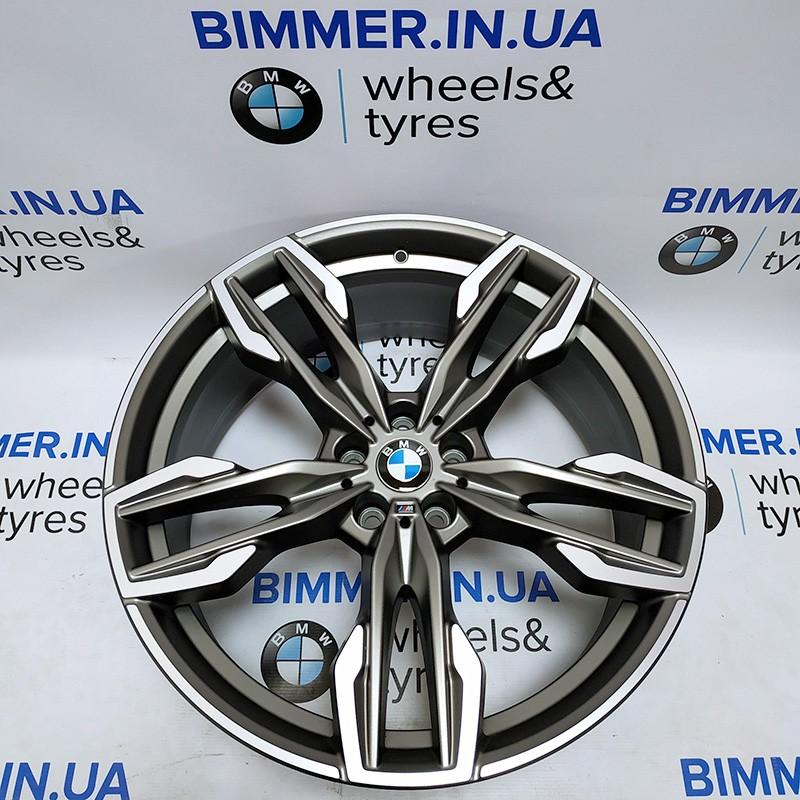 "BIMMER   21"" диск БМВ (BMW) X3 (G01) X4 (G02), 9.5J ЕТ43, стиль (styling) 718M, OEM 8053456"