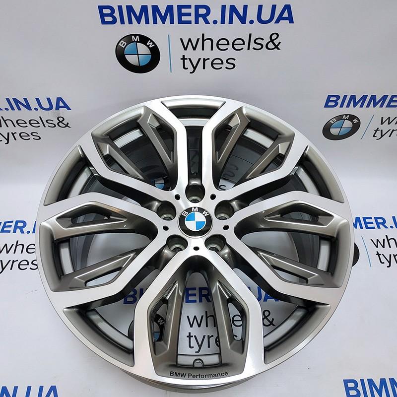 "BIMMER | диск 10J x 21"" ET40 оригинал BMW(БМВ) X5 (E70, F15) X6 (E71, F16), стиль (styling) 375, OEM 6796149"