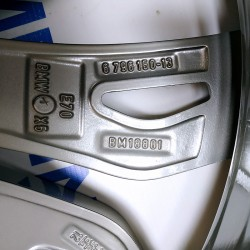 "BIMMER   диск 11.5J x 21"" ET38 оригинал BMW(БМВ) X5 (E70, F15) X6 (E71, F16), стиль (styling) 375, OEM 6796150 6796151"