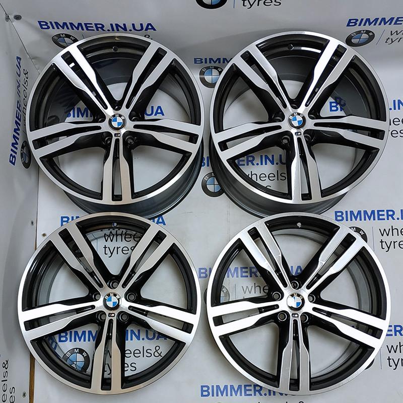 "BIMMER   20"" диски БМВ (BMW) 5 (G30), 6 (G32), 7 (G11, G12), стиль (styling) 648M, OEM 7850581 7850582"