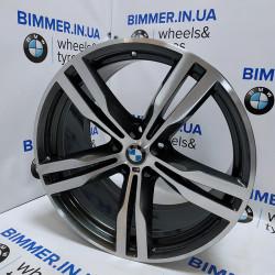 "BIMMER | 20"" диск БМВ (BMW) 5 (G30), 6 (G32), 7 (G11, G12), 10J ЕТ41, стиль (styling) 648M, OEM 7850582"