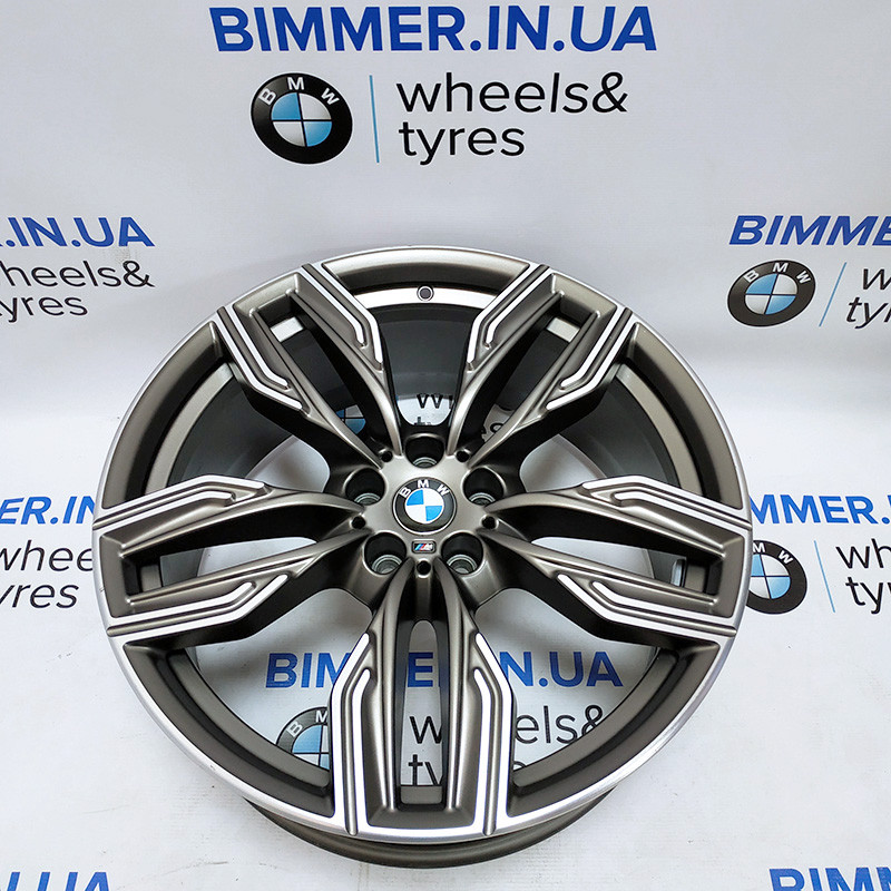 "BIMMER   20"" диск БМВ (BMW) 7(G11, G12), 8.5J ЕТ25, стиль (styling) 760M, OEM 8047257"