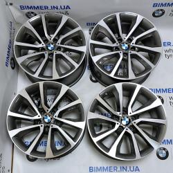 "BIMMER | 19"" диски БМВ (BMW) X5 (E70, F15), X6 (E71, F16), стиль (styling) 595, EOM 6858874 6858875"