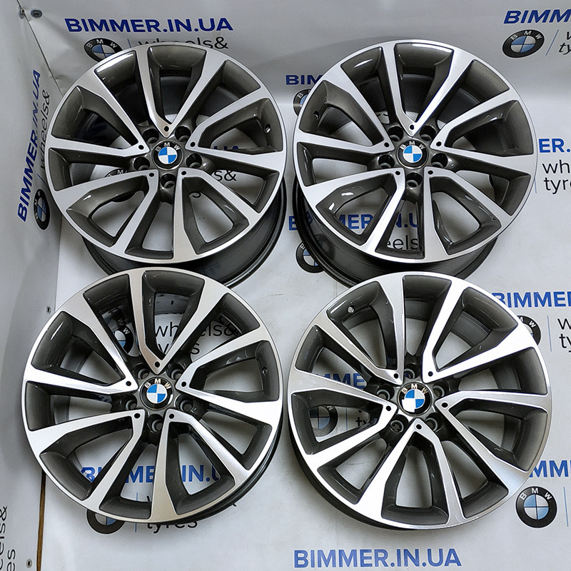"BIMMER   19"" диски БМВ (BMW) X5 (E70, F15), X6 (E71, F16), стиль (styling) 595, EOM 6858874 6858875"