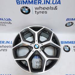 "BIMMER | 18"" 7.5J ET51 диск BMW (БМВ) X1(F48, F49), X2(F39), стиль (styling) 569, OEM 6856070"
