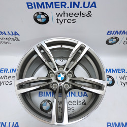 "BIMMER | 19"" диск BMW (БМВ) M2(F87) M3(F80) M4(F82/F83), 10J ET40, стиль (styling) 437M, OEM 2284756 ferricgray"